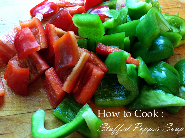 How to Cook :: Stuffed Pepper Soup